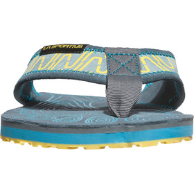 La Sportiva M's Swing Shoes Slate/Tropic Blue